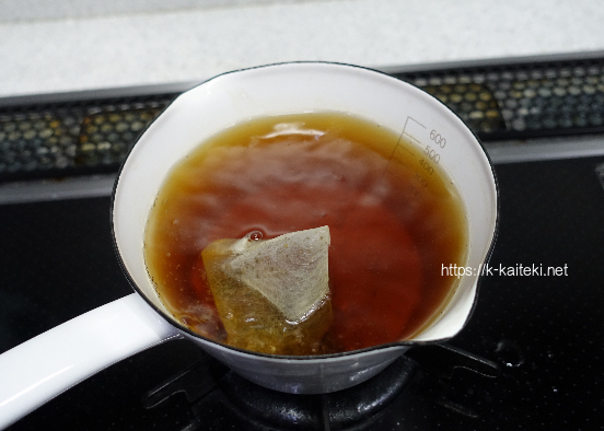 甜茶 煮出す